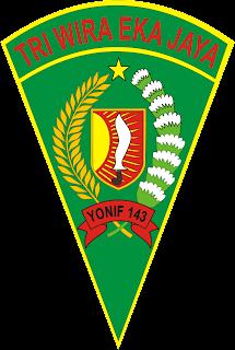 Logo Yonif 143