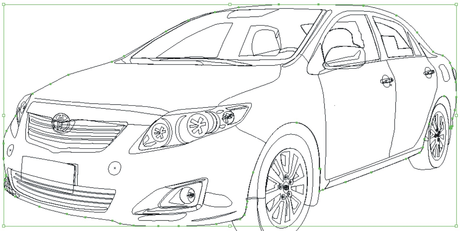 illustrator top designs  how to create a realistic toyota