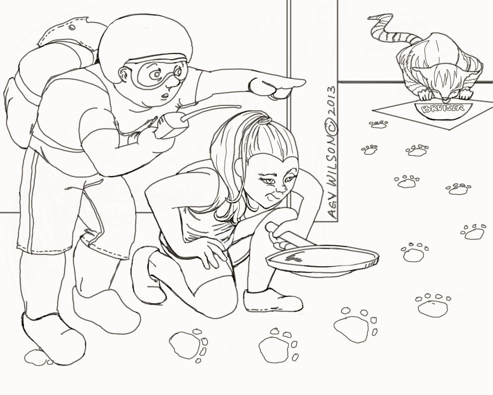caldecott coloring pages - photo#40