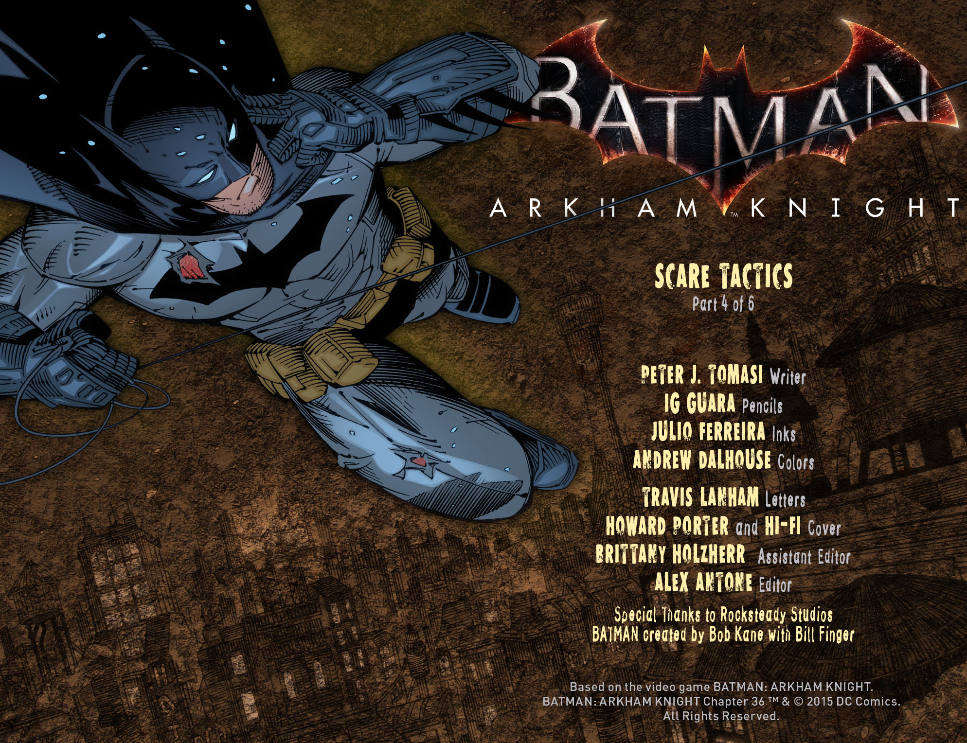 Batman: Arkham Knight [I] Issue #36 #38 - English 2