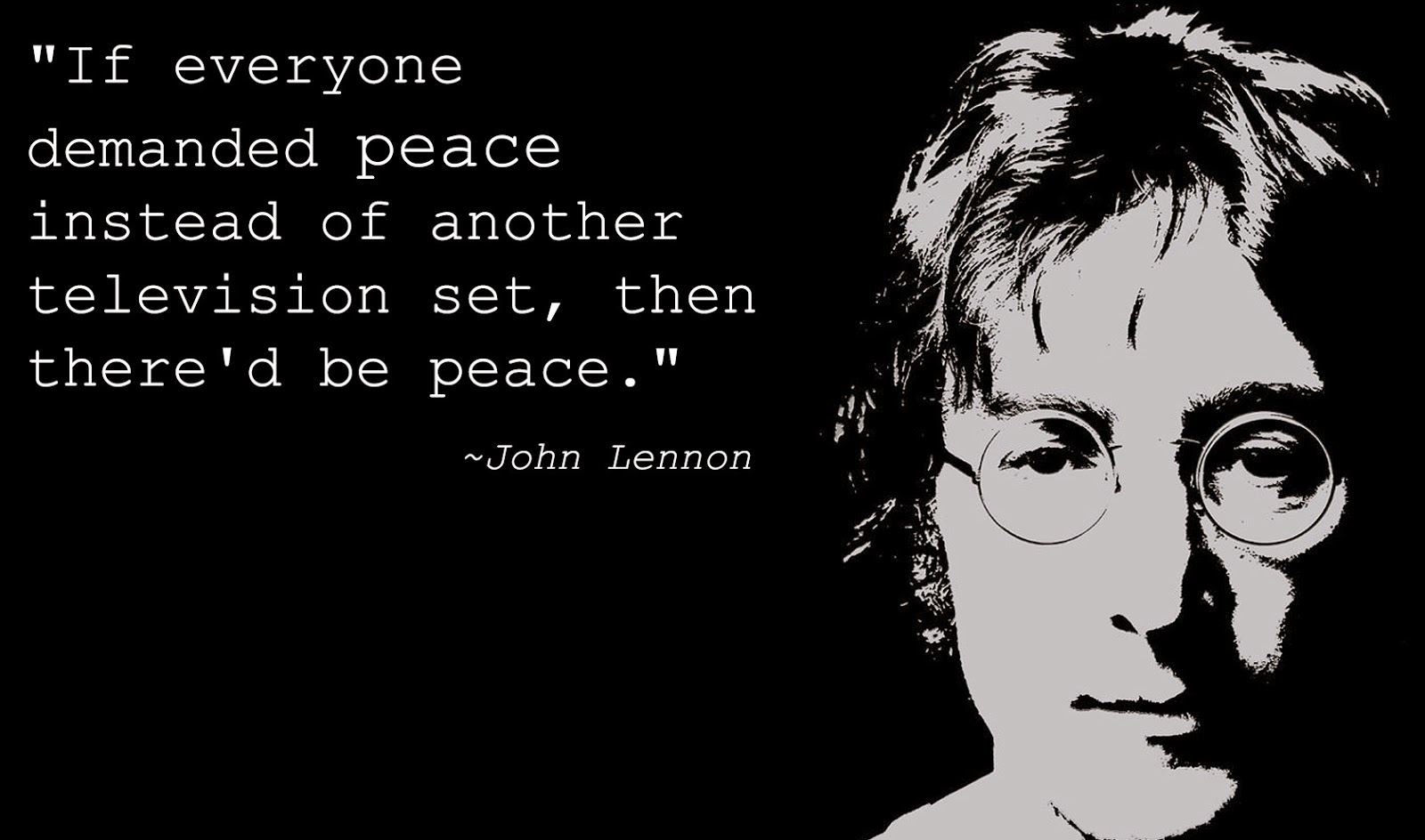 Words of Wisdom: 7 John Lennon Quotes on Peace - Goodnet