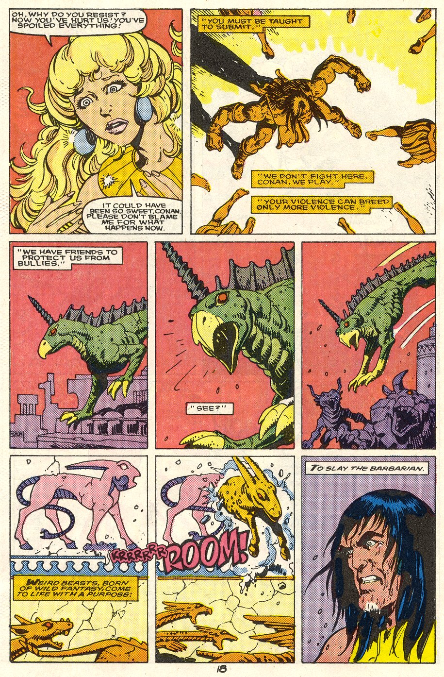 Conan the Barbarian (1970) Issue #214 #226 - English 15