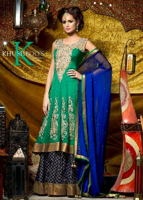 Khusboos Velvet Bridal Wear Collection By Chand