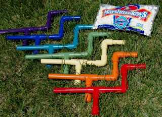 Make Your Own Marshmallow Shooter Let The Wars Begin Create Family Reunion Website 30 Outdoor Games And Activities