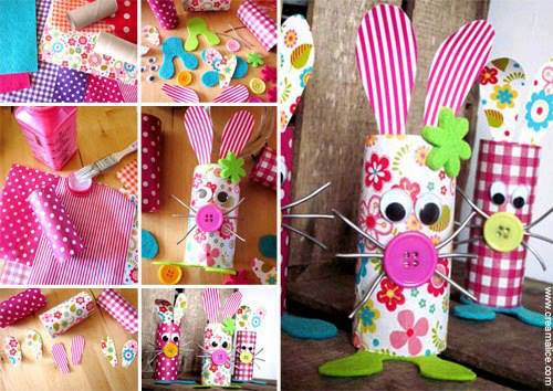 SEIS ideas para dulceros o bolos con material reciclable ...