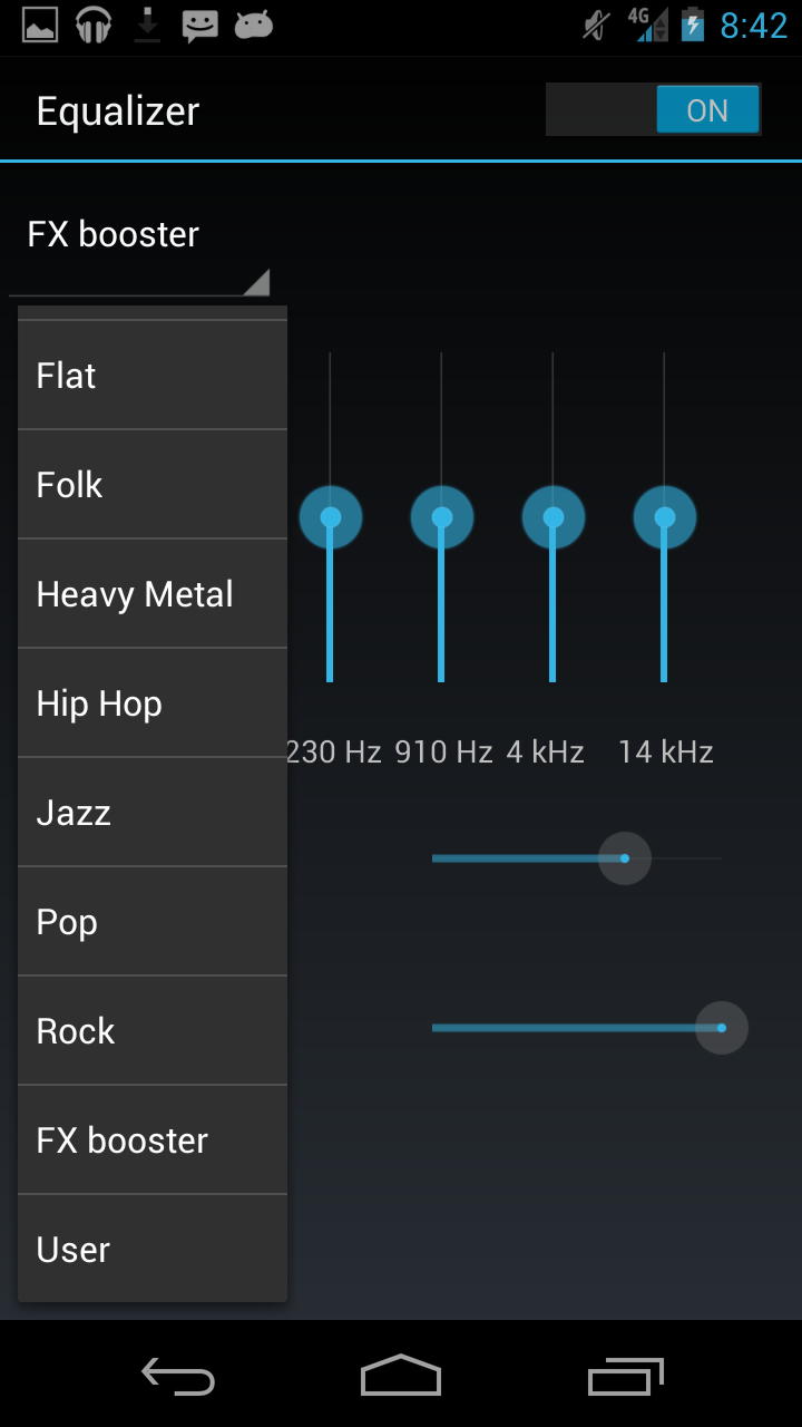 Google Android Music Equalizer Eq Bandroid Root Baccess 5 Band Circuit Diagram Here You Apply Presets Based On Genre Or Quickly Create Your Own Custom Preset With The Controller Enjoy