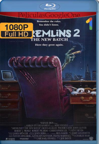 Gremlins 2: La nueva generación (1990) BRRip [1080p] [Latino] [GoogleDrive]