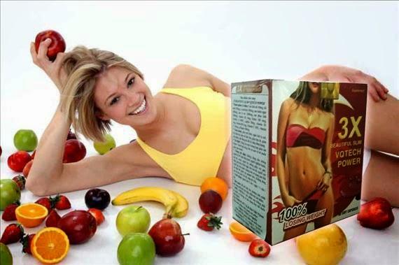 Thuốc giảm cân 3x Slimming Power giúp bạn cải thiện vóc dáng