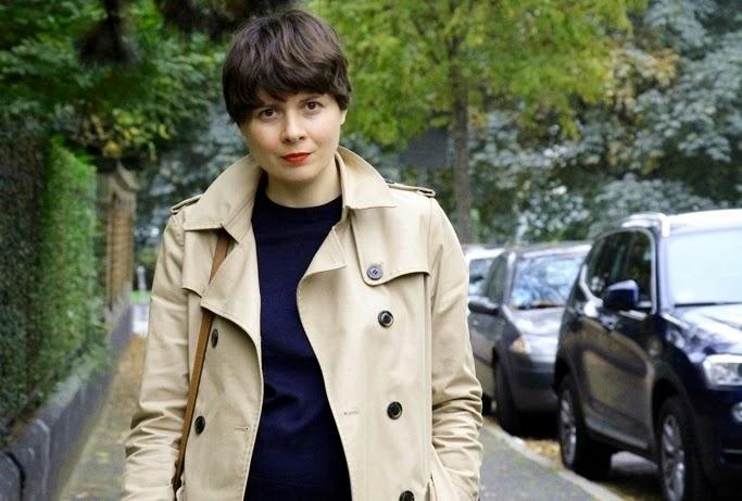 Trench coat Hallhuber, Xenia Metelski