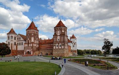 castillo mir bielorrusia