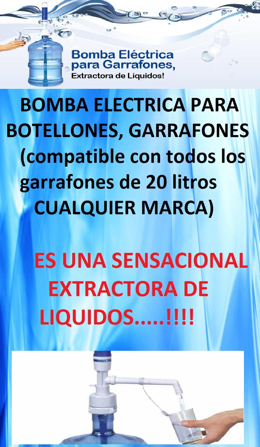Bomba de agua electrica para garrafon el mejor precio maa - Bombas de agua electricas precios ...