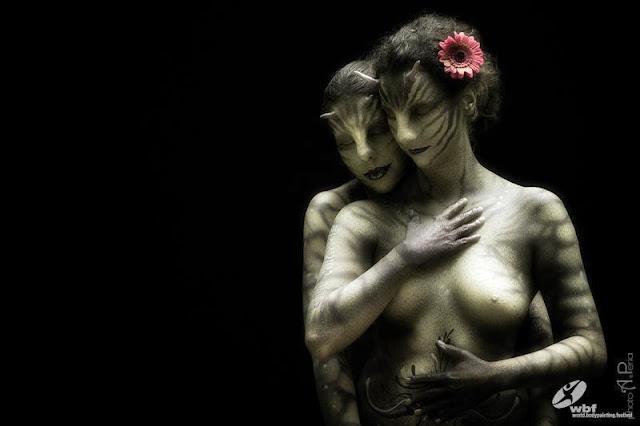 Kumpulan Foto Body Painting 1