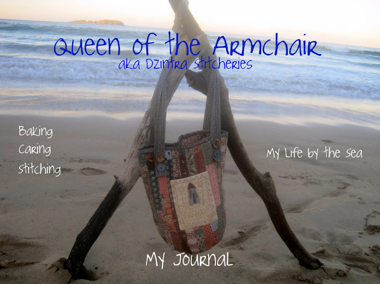Queen of the Armchair aka Dzintra Stitcheries