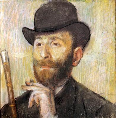 Retrato de Edgar Degas [1834-1917]