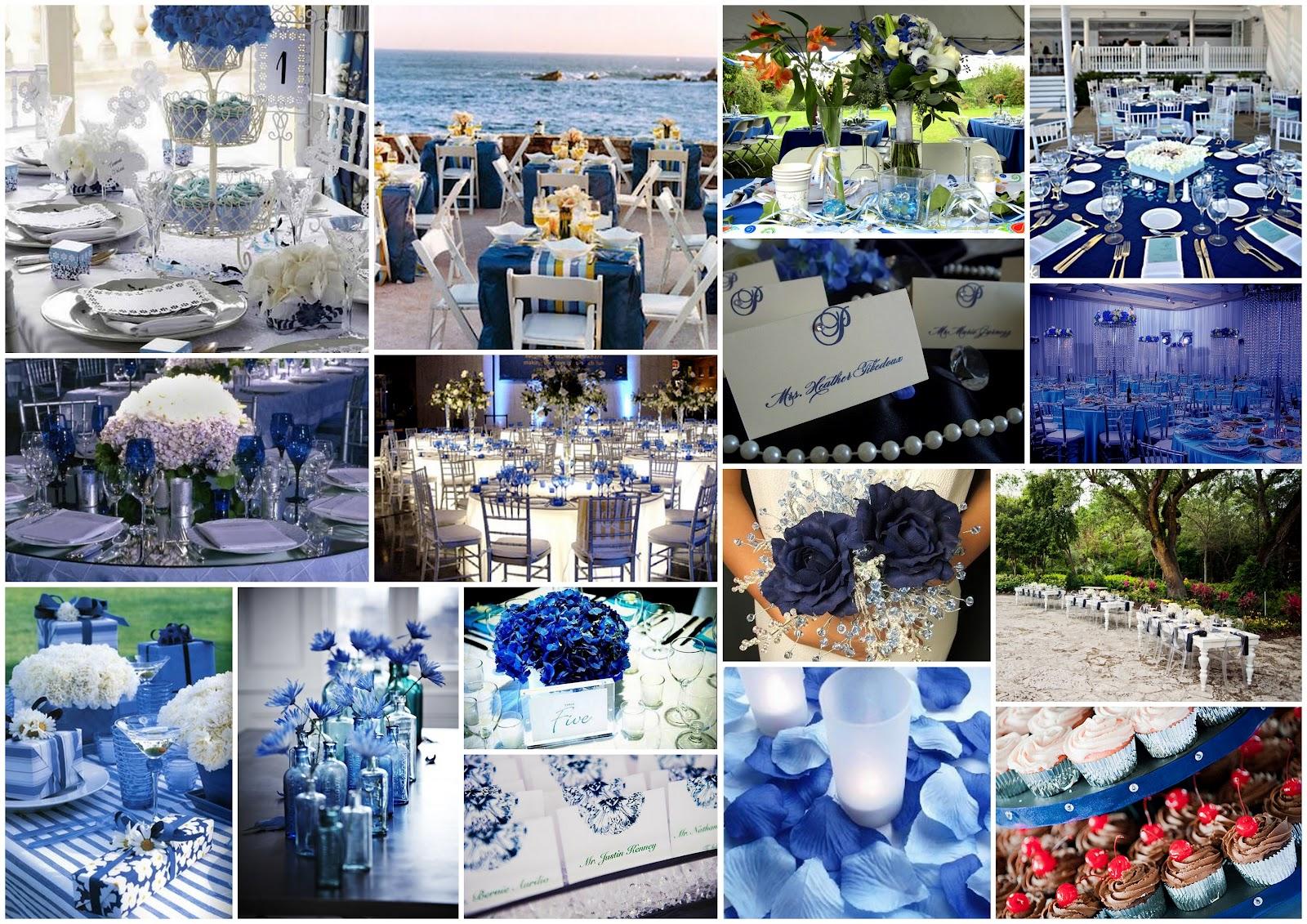 Matrimonio Tema Blu : Matrimonio e un tocco di classe colori del per i