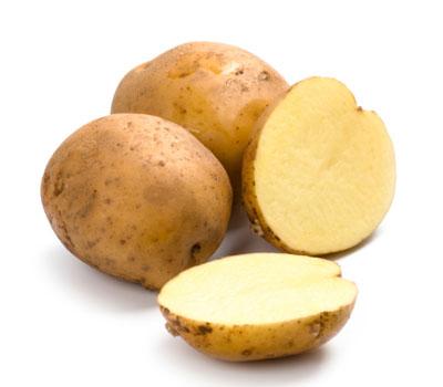 patatas para el pelo