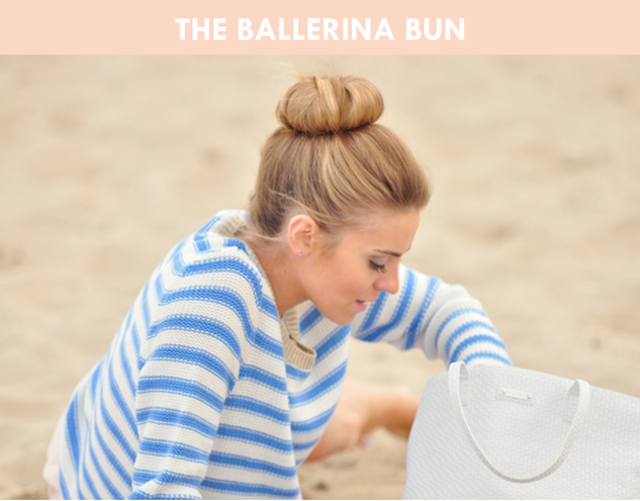 hair tutorial: the ballerina bun