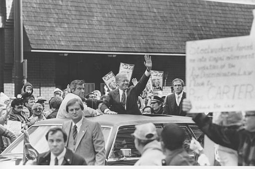 SAIC Jerry Parr & ASAIC Robert DeProspero with President Carter