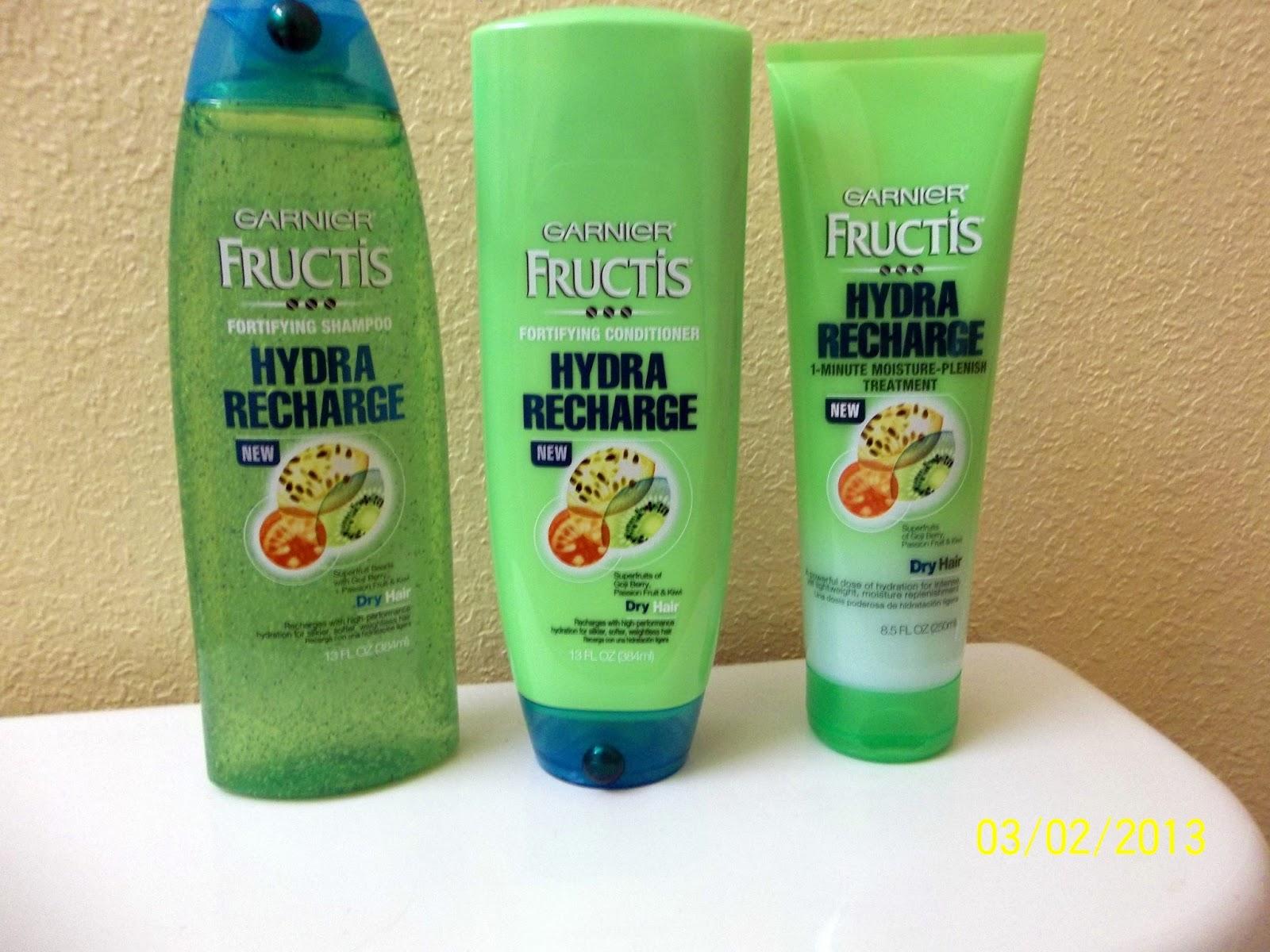 Garnier Fructis Hydra Recharge Conditioner Natural Hair