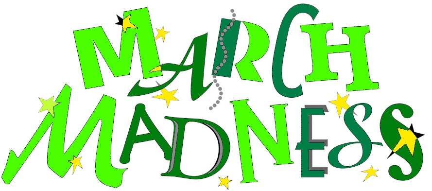March Madness Clip Art March madness. it's march!