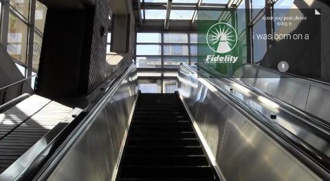 Connexion à Fidelity sur Google Glass