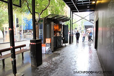 how to get kiosk in sydney cbd