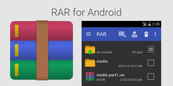 RAR FOR ANDROID PREMIUM V5.30 BUILD 39 APK