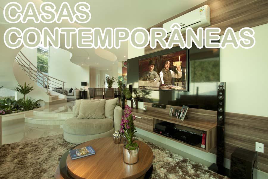 Casas contempor neas a tend ncia da modernidade decor for Estilos de casas contemporaneas