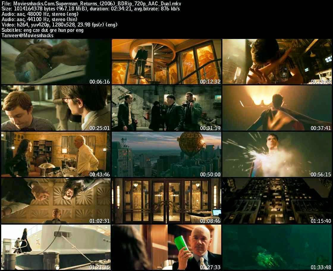 Superman Returns (2006) BRRip 720p x264