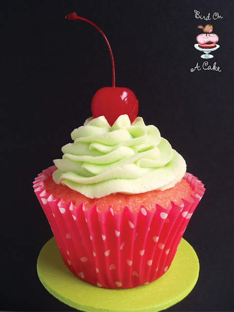 The Cherry Limeade Cupcakes I have seen combine lime cake and cherry ...