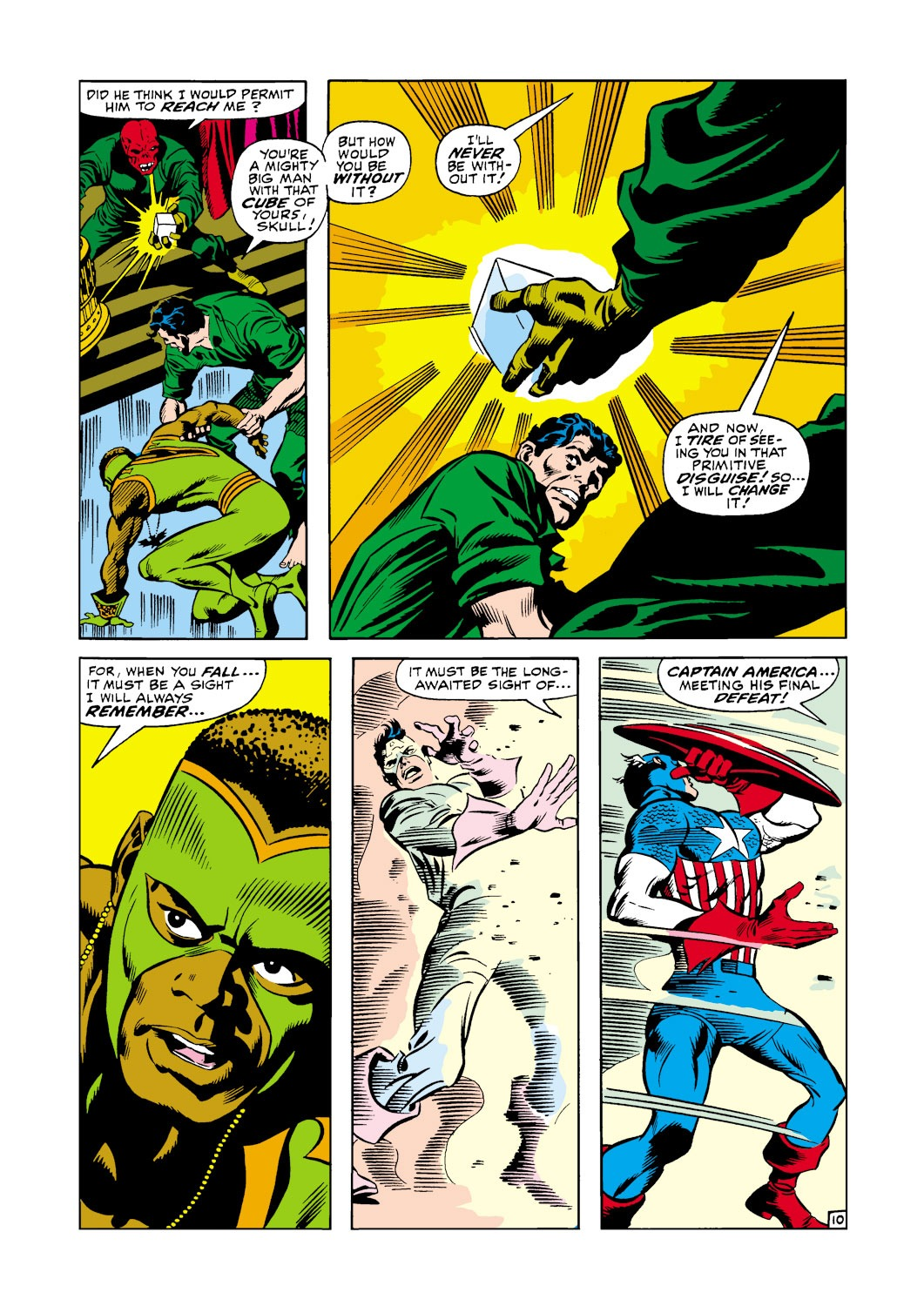 Captain America (1968) Issue #119 #33 - English 11