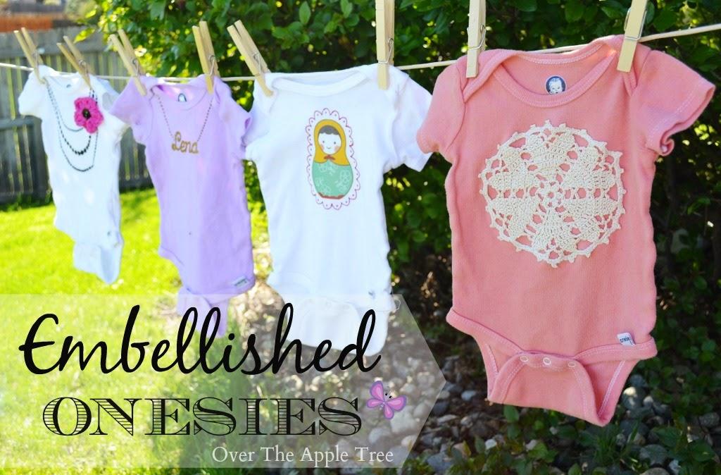 Embellished Onesies >> Over The Apple Tree