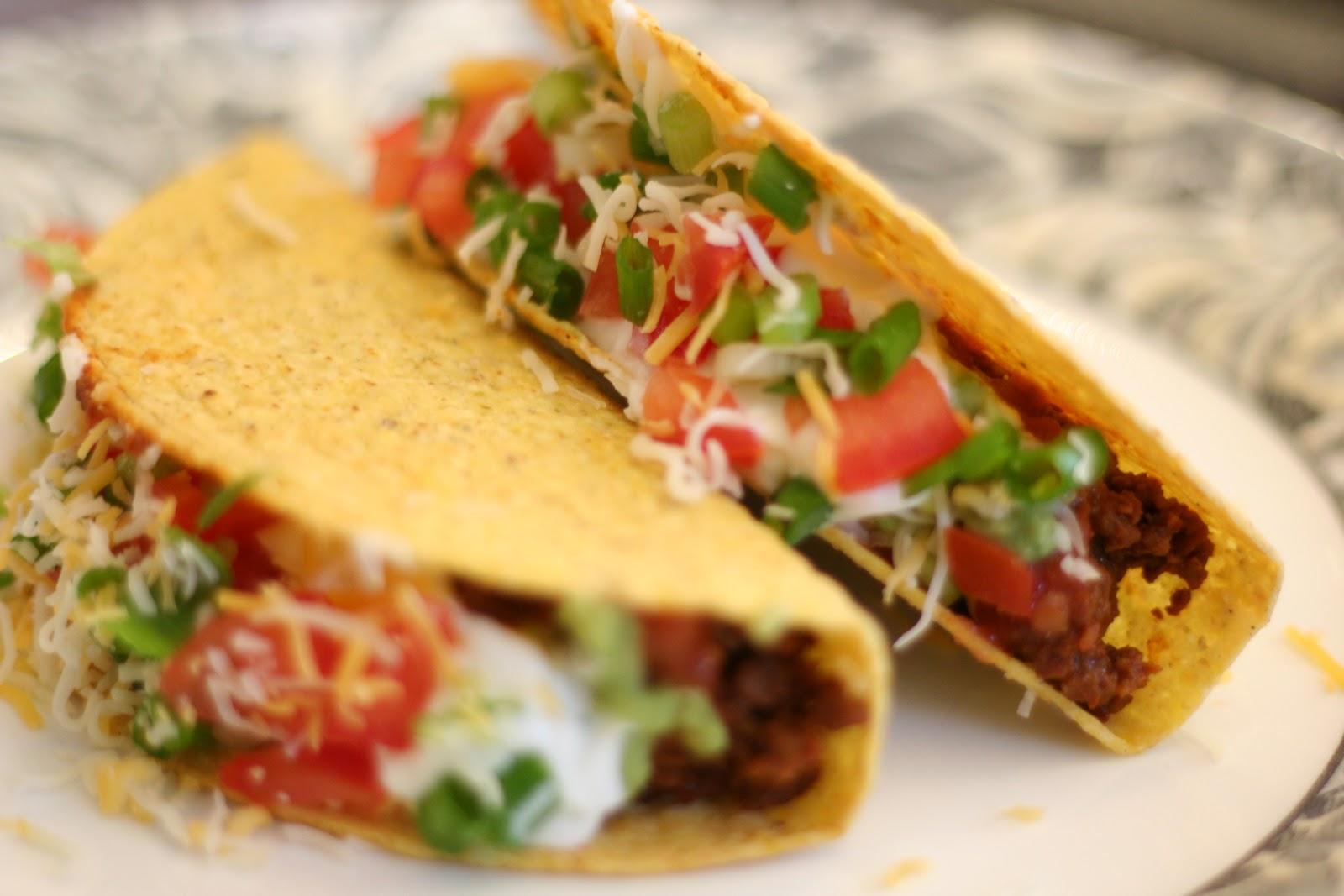 Veggie Tacos Recipe — Dishmaps