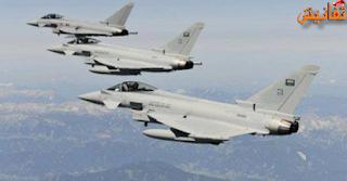 تحليق مكثف لطائرات التحالف في سماء صنعاء