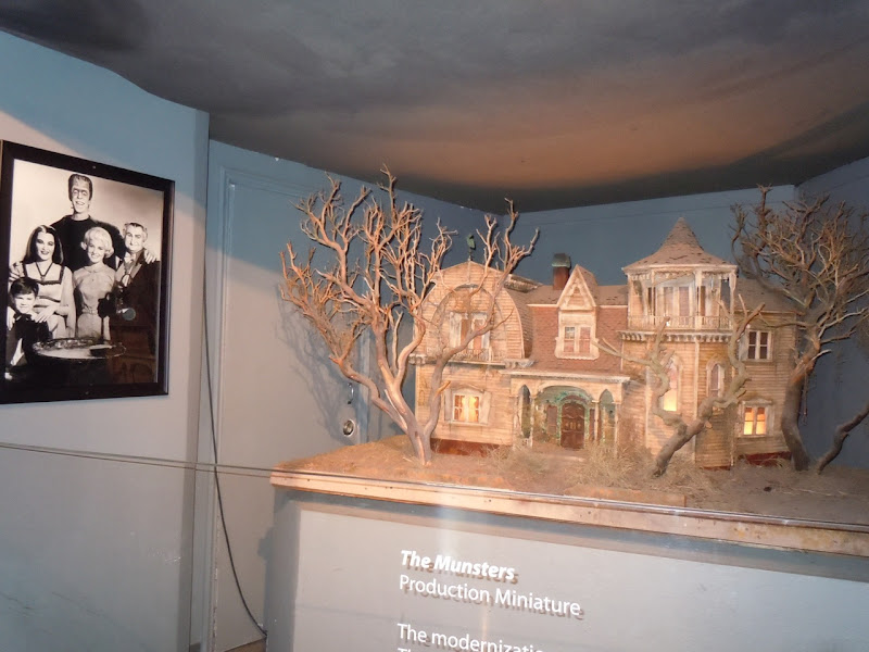 The Munsters house production miniature