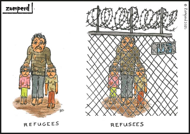 Zomperd - Refugees/ Refusees