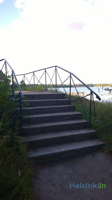 Urho Kekkonen's fitness stairs