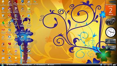Mengubah Tampilan WindowsXP Menjadi Mirip Vista