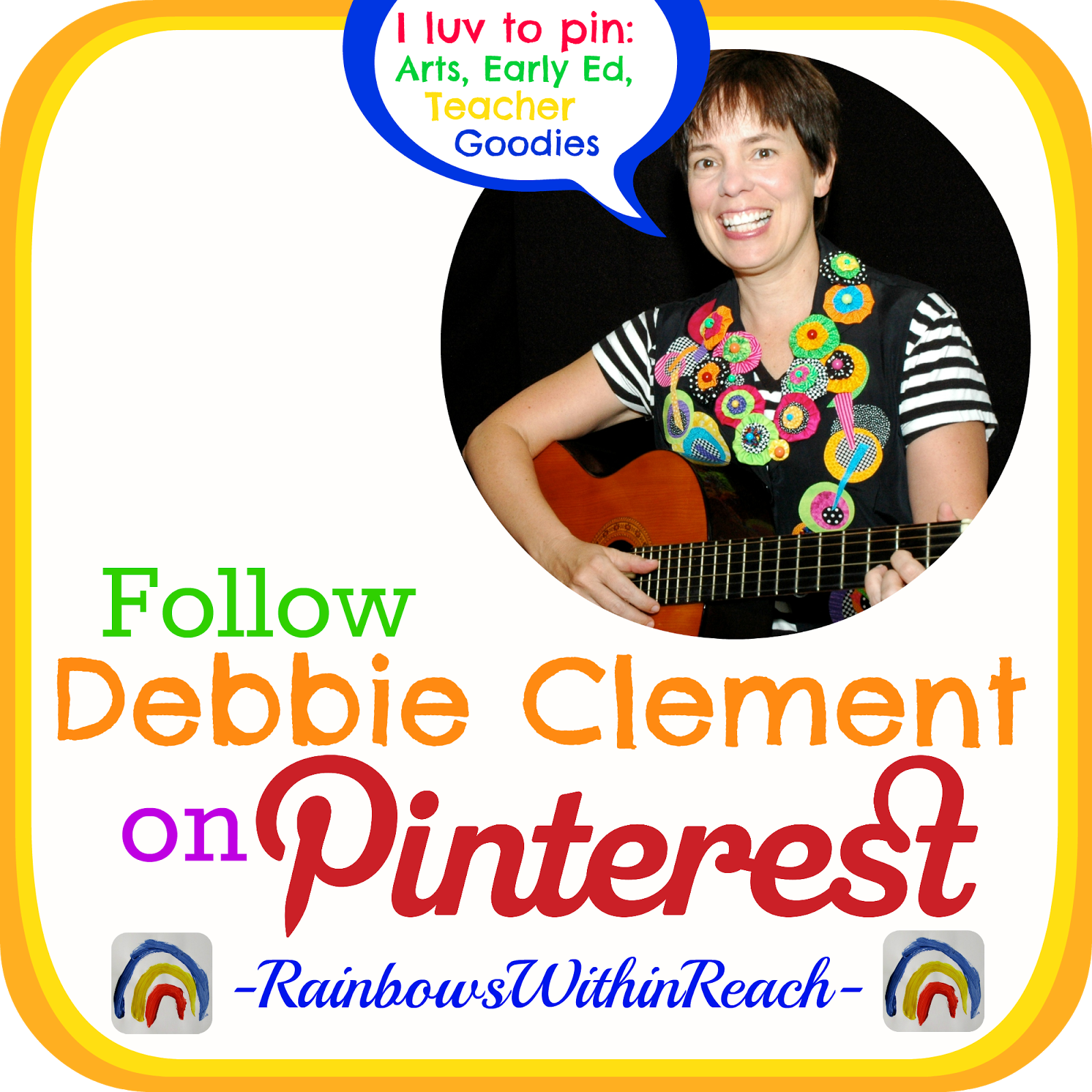 Follow Debbie Clement on Pinterest!