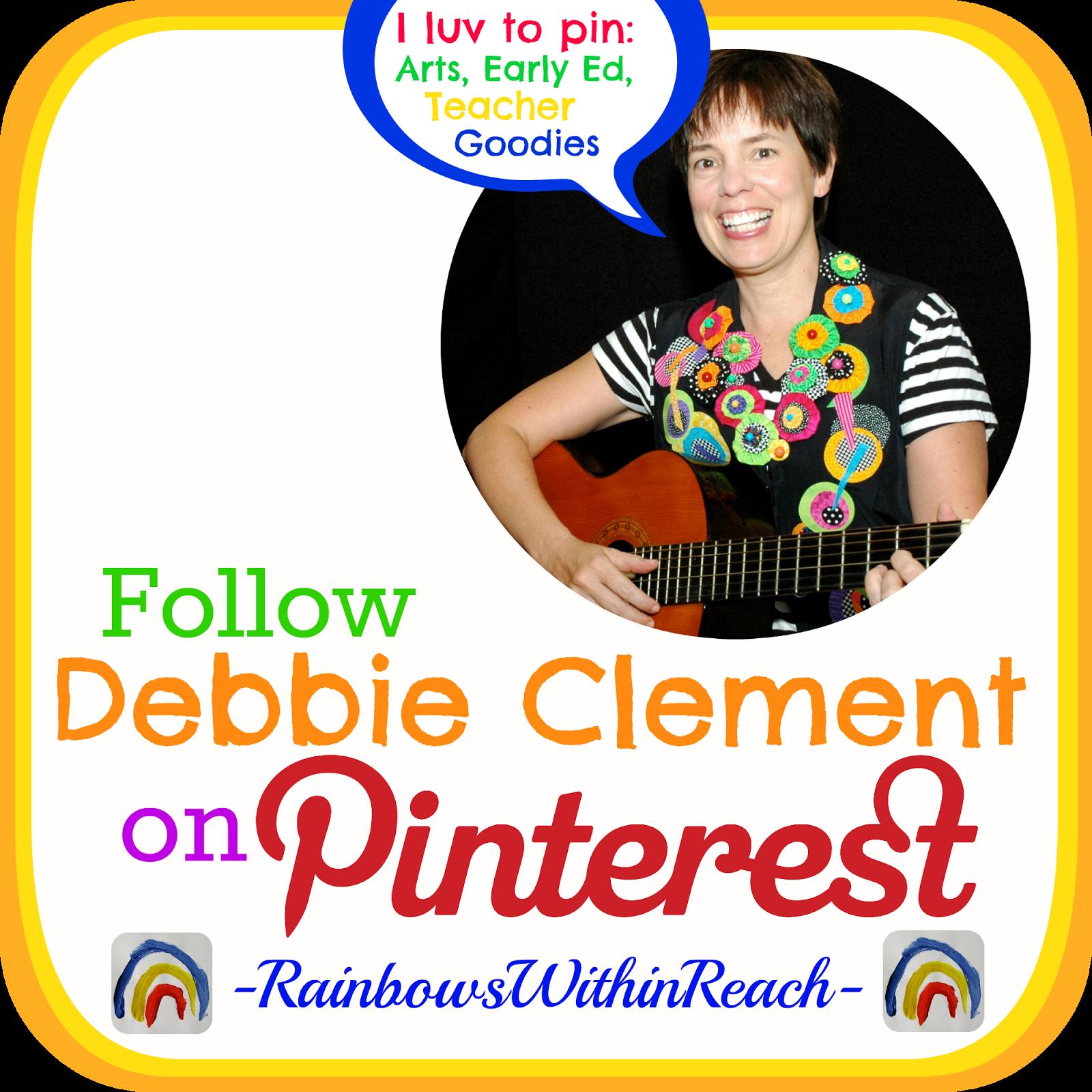 Follow Debbie Clement on Pinterest!