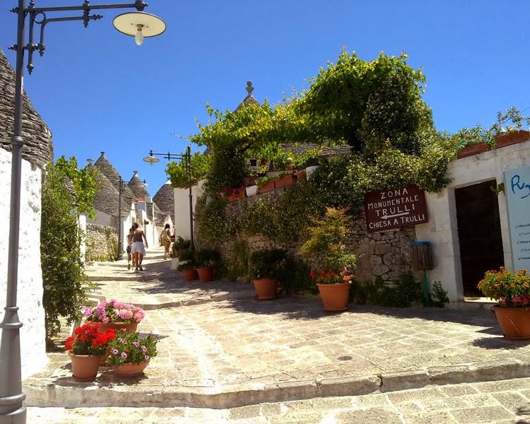 Visiting the Historical Trulli of Alberobello