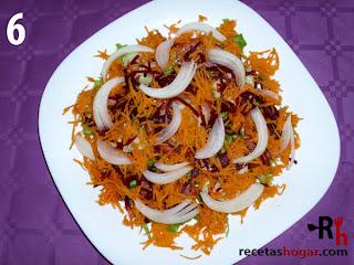 Recetas de cocina: Ensalada mediterránea - Paso 6