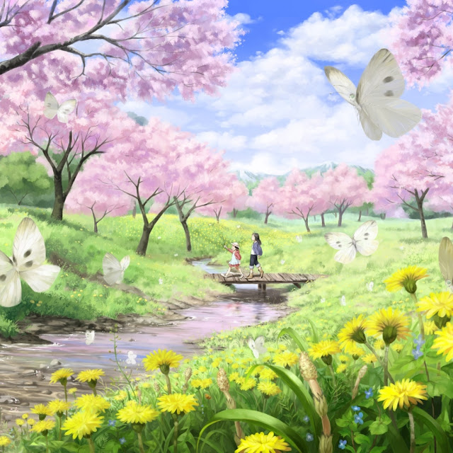 spring ipad wallpaper 07