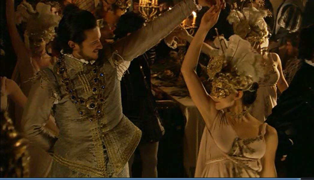 Anne Boleyn dances with King Francis