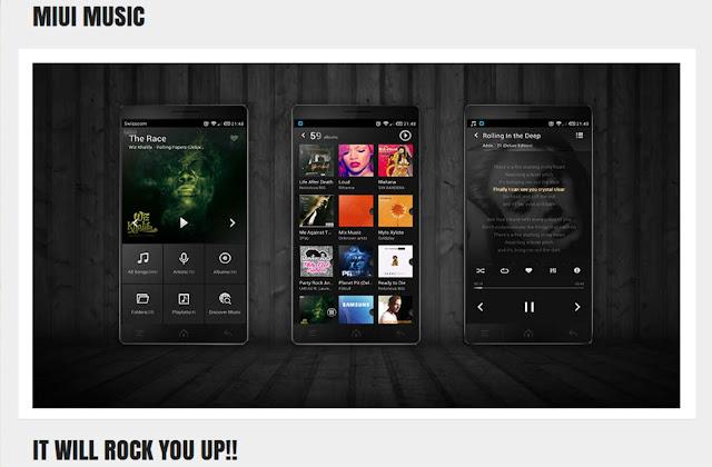 MIUI Music Player v4, Reproductor de musica - apk android