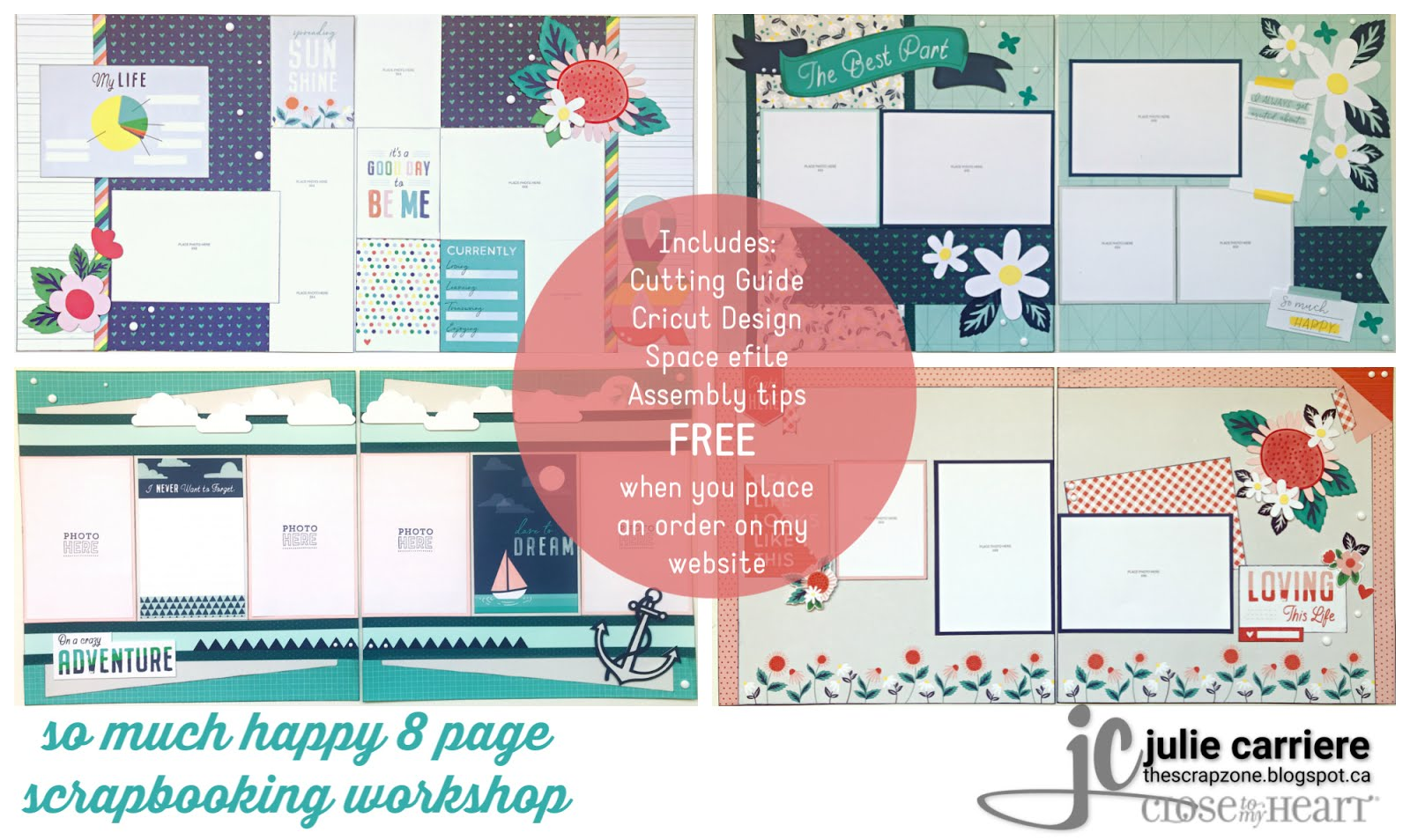 so much happy scrapbooking assembly guide