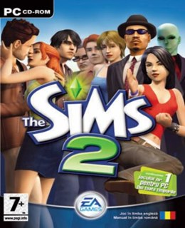 The Sims 2 PC Box