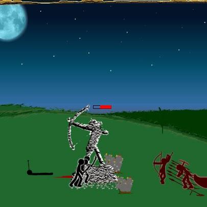 Stick War FLASH GAME, ação, aventura.