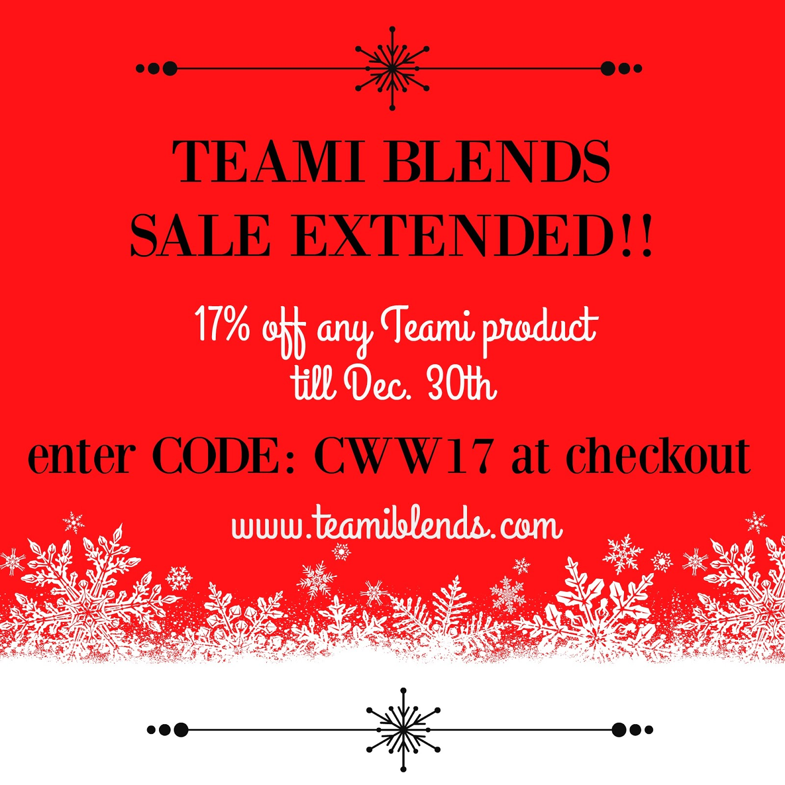 Teami coupon code