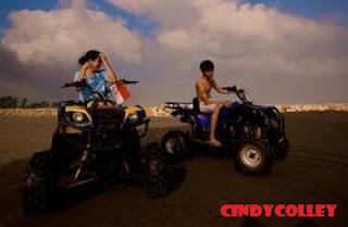ATV ( All Terrain Vehicle ) Permainan menarik yang menyenangkan akan membawa anda menjelajahi Pangandaran!!!